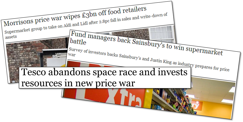 Retailers' profit squeeze